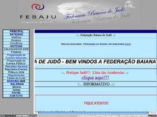 Thumbnail do site FEBAJU - Federação Baiana de Judô