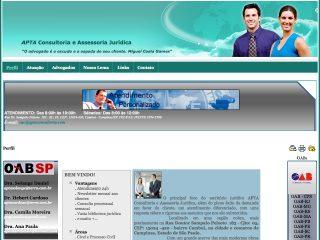 Thumbnail do site APTA Consultoria e Assessoria Jurídica