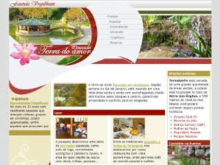 Thumbnail do site Pousada Terra do Amor