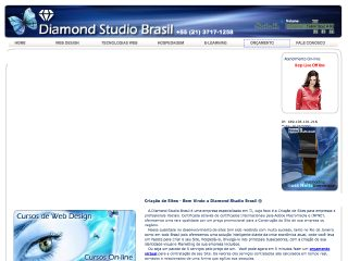 Thumbnail do site Diamond Studio Brasil