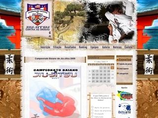 Thumbnail do site F.B.J.J. - Federação Baiana de Jiu-Jitsu