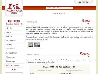 Thumbnail do site Plaza Hotel