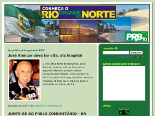 Thumbnail do site