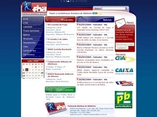 Thumbnail do site F.B.A. - Federação Bahiana de Atletismo