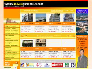 Thumbnail do site CompreImoveisGuarapari.com.br
