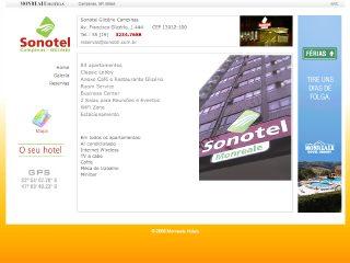 Thumbnail do site Sonotel Glicério