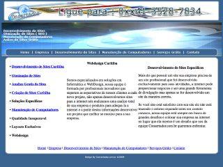 Thumbnail do site Webdesign Curitiba - Desenvolvimento de Sites