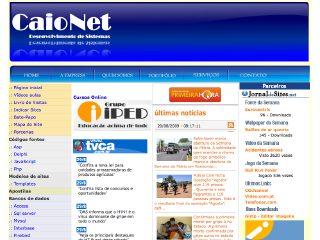 Thumbnail do site CaioNet