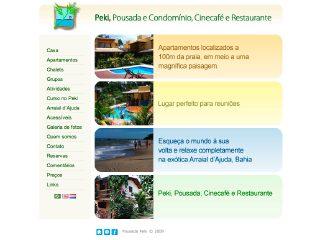 Thumbnail do site Pousada Peki