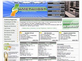 Thumbnail do site AmetaHost