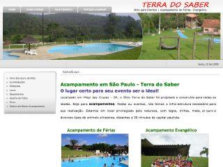 Thumbnail do site Acampamento Terra do Saber