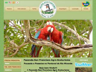 Thumbnail do site Pantanal Fazenda San Francisco
