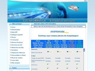 Thumbnail do site CJC Informática
