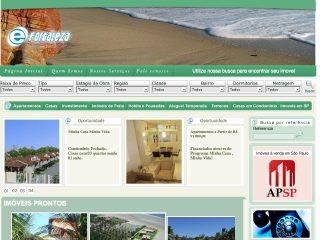 Thumbnail do site e-Fortaleza, Imoveis  em Fortaleza