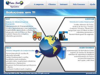 Thumbnail do site InterSite Informática