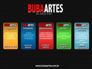 Thumbnail do site Buba Artes - Art, design & web