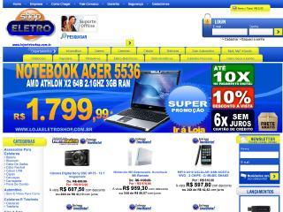 Thumbnail do site Eletro Shop informática & eletrônicos