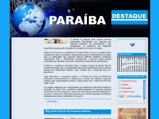 Thumbnail do site Paraiba Destaque