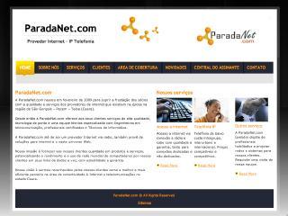 Thumbnail do site ParadaNet.com - Provedor de Internet