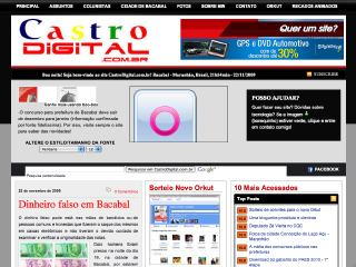 Thumbnail do site Castro Digital
