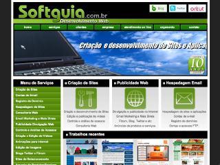 Thumbnail do site Softguia Desenvolvimento Web