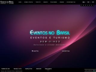 Thumbnail do site Eventos no Brasil - Guia de Eventos e Turismo