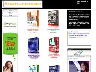 Thumbnail do site Apostila Hacker - Seu site de Segurança
