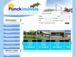 Thumbnail do site Funck Imóveis