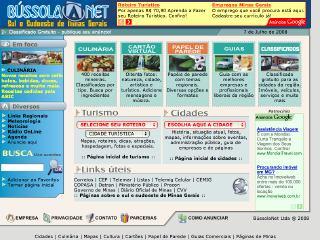 Thumbnail do site BússolaNet - Sul e Sudoeste de Minas