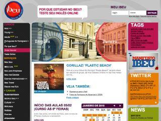 Thumbnail do site IBEU - Inglês Global