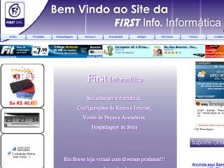 Thumbnail do site First Informatica