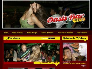 Thumbnail do site Oasis Bar Club