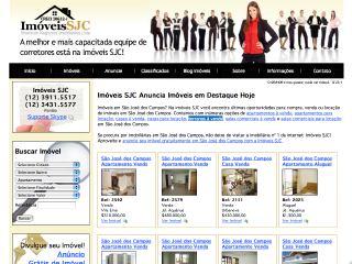 Thumbnail do site Imóveis SJC - Shekinah Negócios Imobiliários