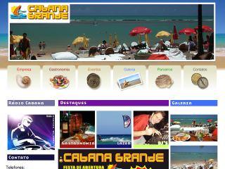 Thumbnail do site Cabana Grande
