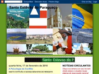 Thumbnail do site Santo Estêvão do Paraguaçu