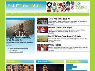 Thumbnail do site Futebolclubes