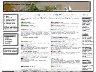 Thumbnail do site Restaurantes.do-Brasil.biz
