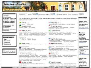 Thumbnail do site Imóveis.do-Brasil.biz