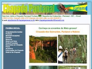 Thumbnail do site Chapada Pantanal Turismo