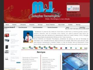 Thumbnail do site M & J Soluções Tecnológicas