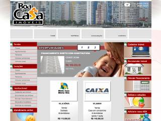 Thumbnail do site Boa Casa Imóveis