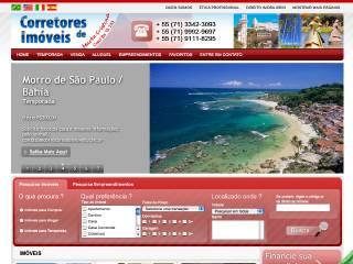 Thumbnail do site Corretores de Imóveis - Marta Cristina