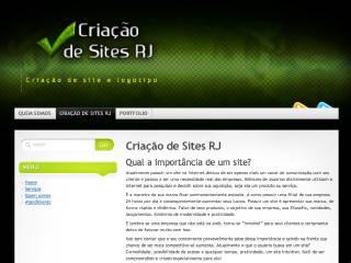 Thumbnail do site Criação de Sites RJ