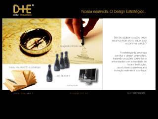Thumbnail do site D+E Design Estratégico