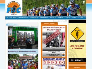 Thumbnail do site F.B.C. - Federação Baiana de Ciclismo