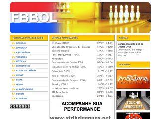 Thumbnail do site FBBol - Federação Baiana de Boliche