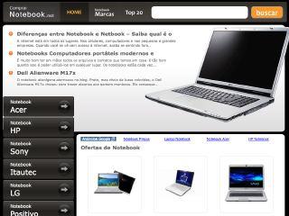 Thumbnail do site Comprar Notebook .net