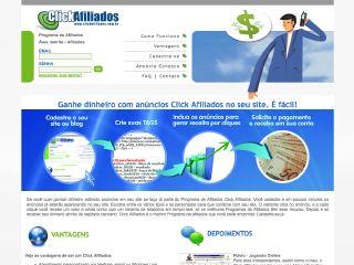 Thumbnail do site Click Afiliados