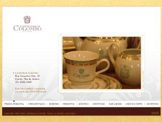 Thumbnail do site Confeitaria Colombo