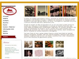 Thumbnail do site Bar e Restaurante Urca